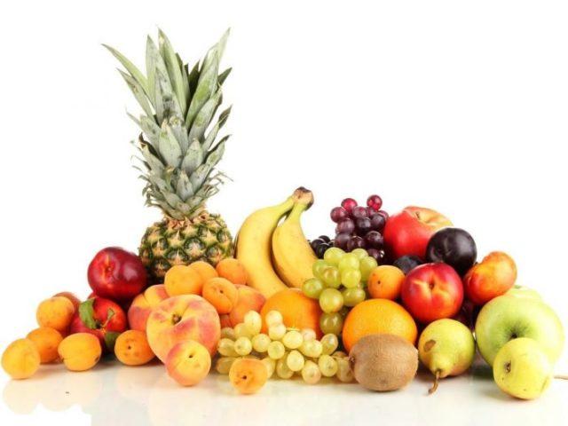 Midede gaz için meyve